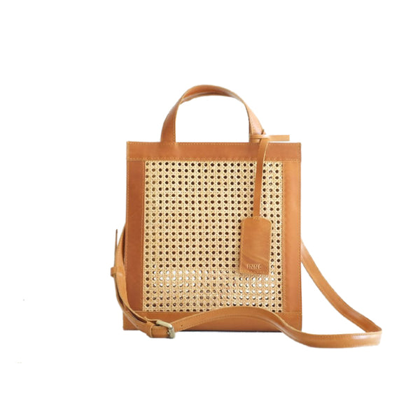 SIA 2 Way Tote - Tan