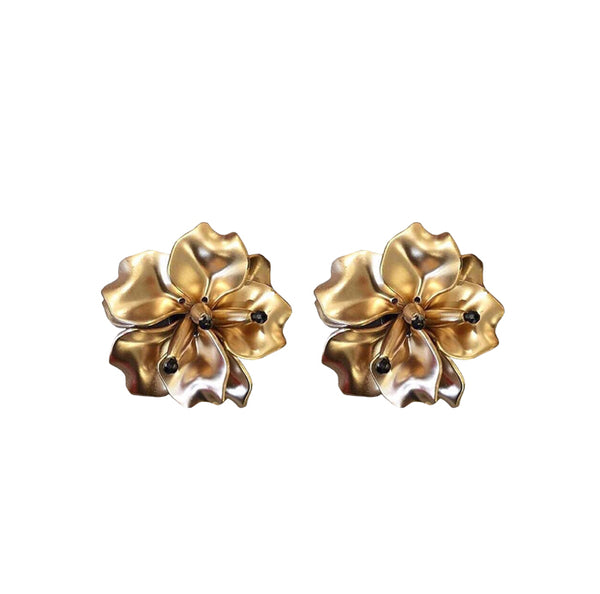 FLEUR Earrings - Gold