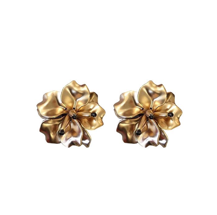 FLEUR Earrings - Gold MD