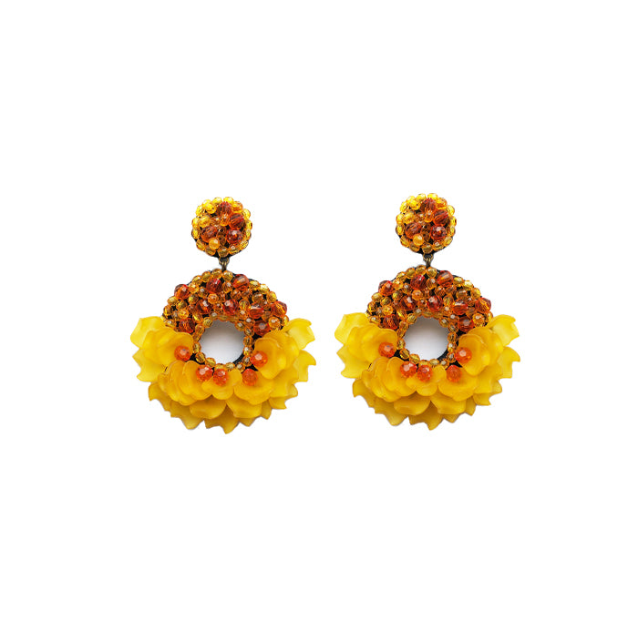 LADY Earrings - Golden