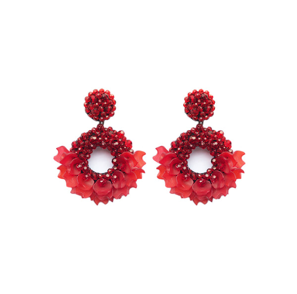 LADY Earrings - Red