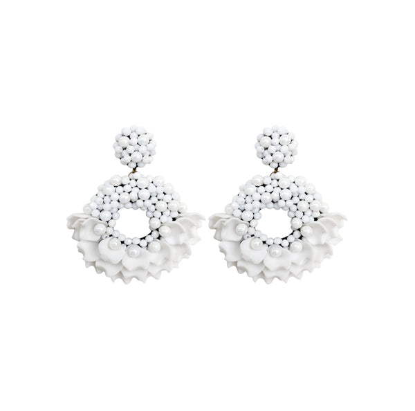 LADY Earrings - White