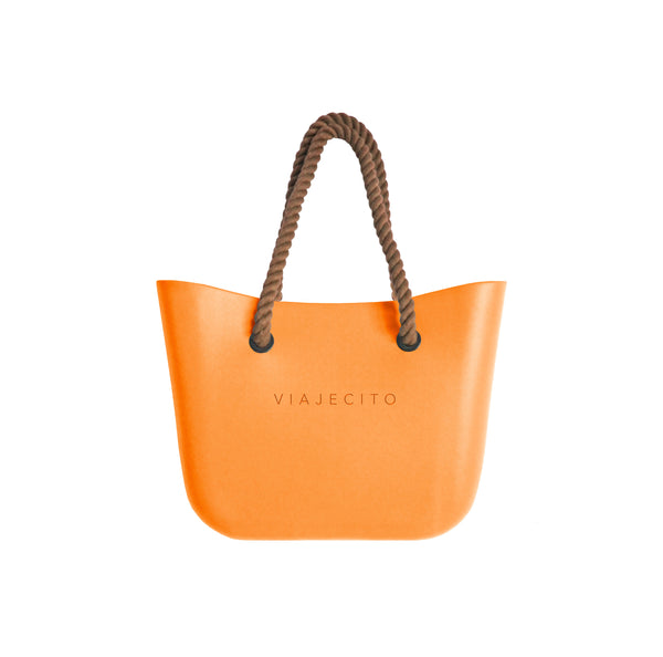 VIAJECITO Tote - Orange