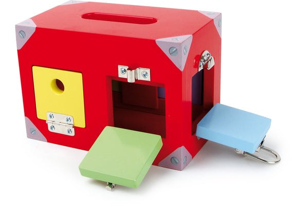 Motor Activity Toy Lock Box