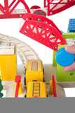 """My Town"" wooden railway set 127pcs"