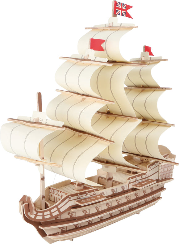 3D Puzzle of Battleship