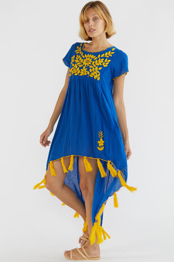 Embroidered Dress Hellin