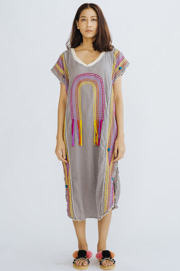 Embroidered Kaftan Nutsu