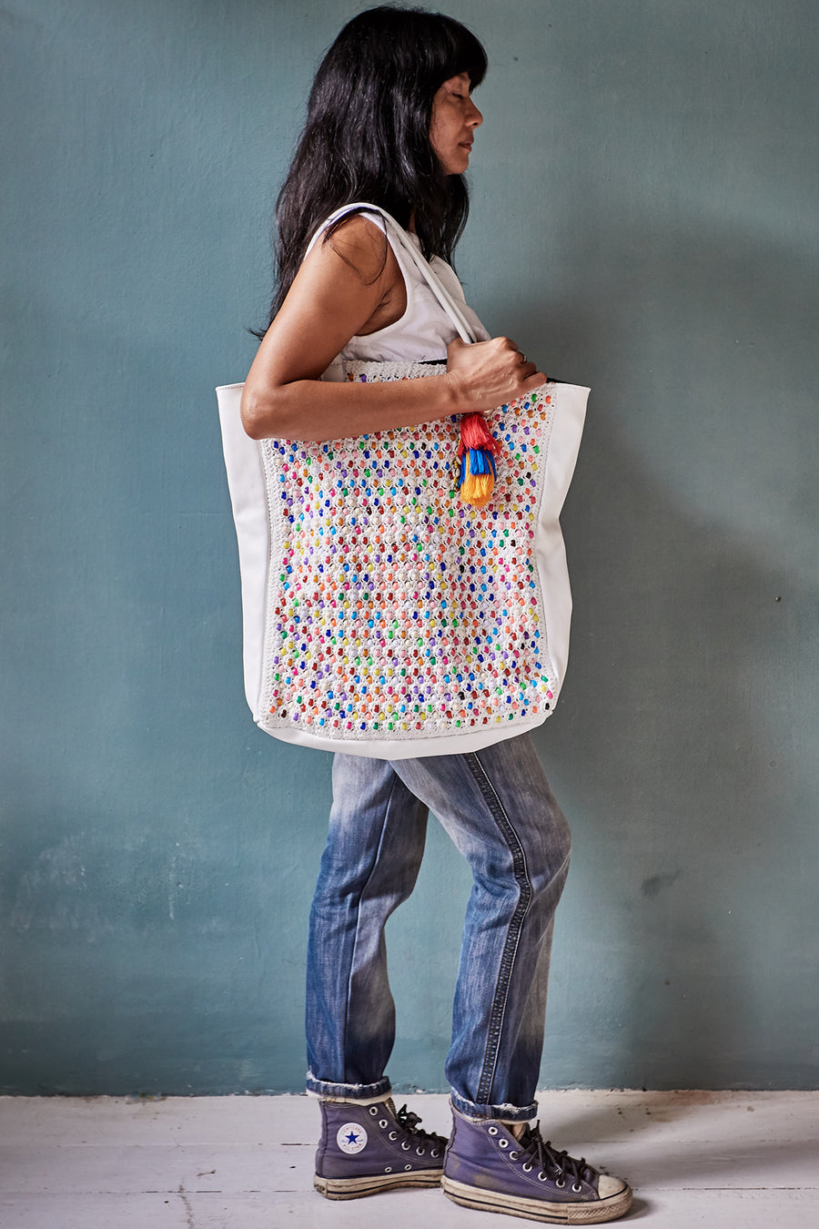 Crochet Bead Bag Lienna