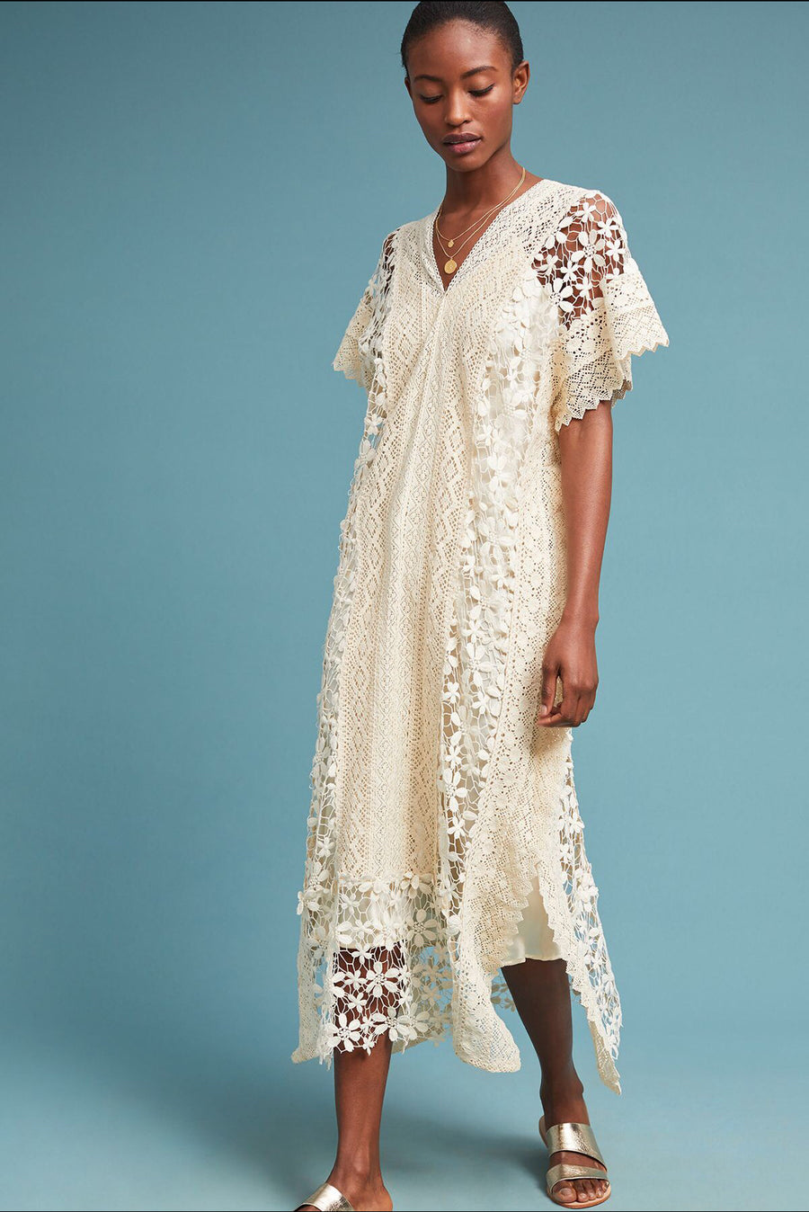 Kaftan Lace Dress Aires