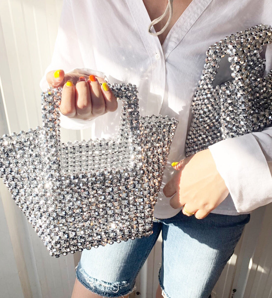 Sparkle Beaded Bag Stylist Pernille