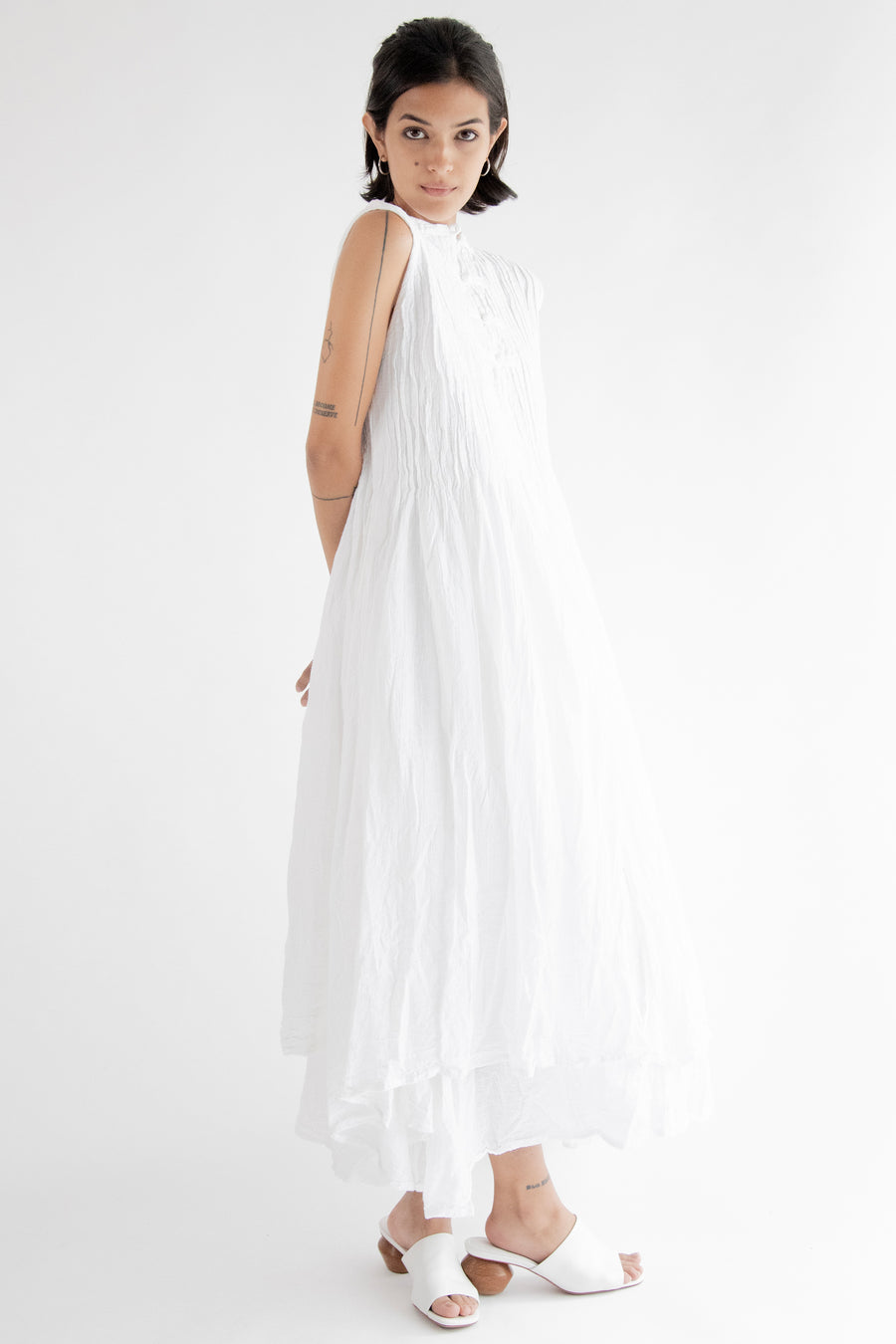 White Maxi Dress Portia