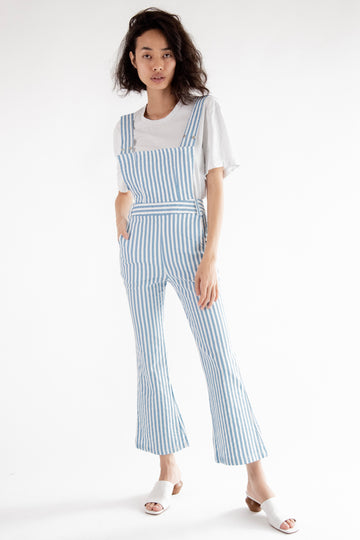 Striped Jumpsuit Romper Parker