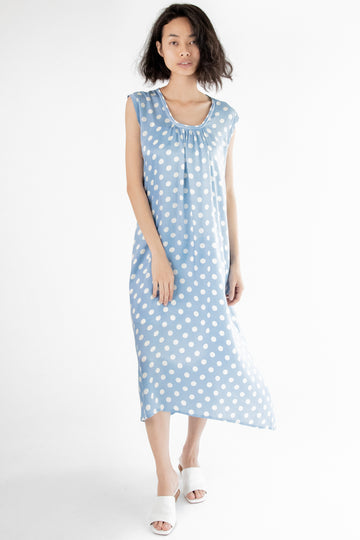Dress Karen Modal Silk Polka Dot