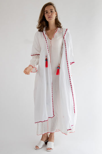 Embroidered Kaftan Wawee