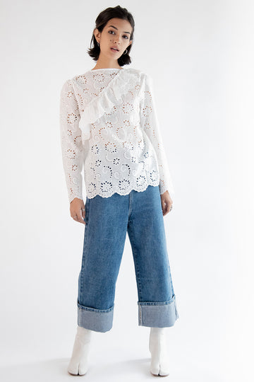Lace Top Daisy