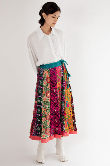 Embroidered Skirt Louise