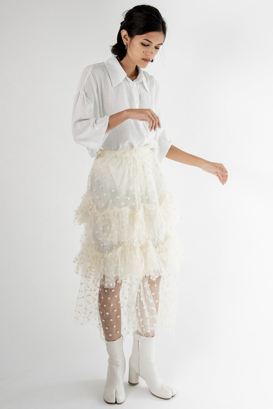 Layered Lace Skirt Jane