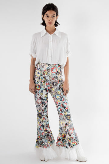 Embroidered Pants Ruth