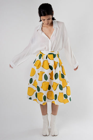 Love My Lemons Skirt Vogue