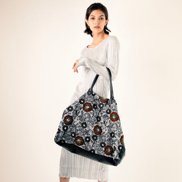 Embroidered Free People Boho Chiffon Silk Embroidery Bag Virun