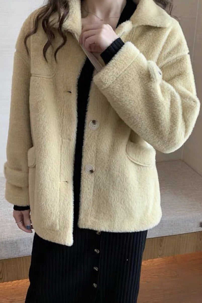 Fluffy Jacket Simone