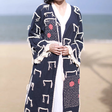 Embroidered Kaftan Jacket Zoe