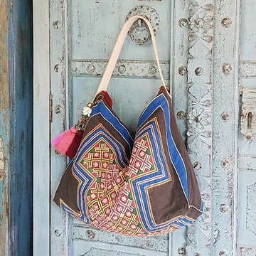 Tribal Boho Bag One Of A Kind Hobo Bag