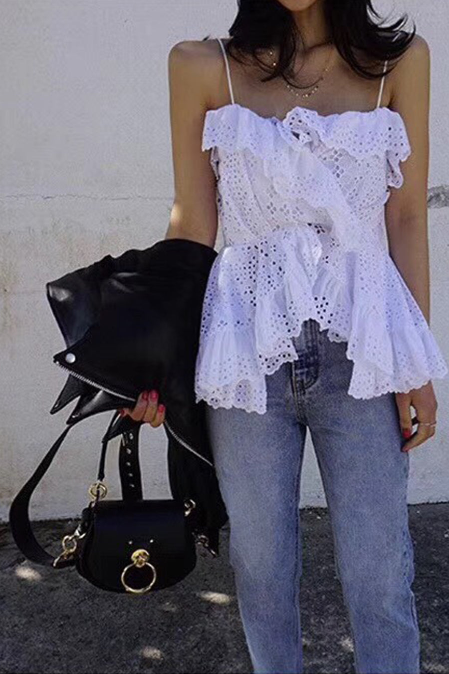 Summer Lace Top Macia