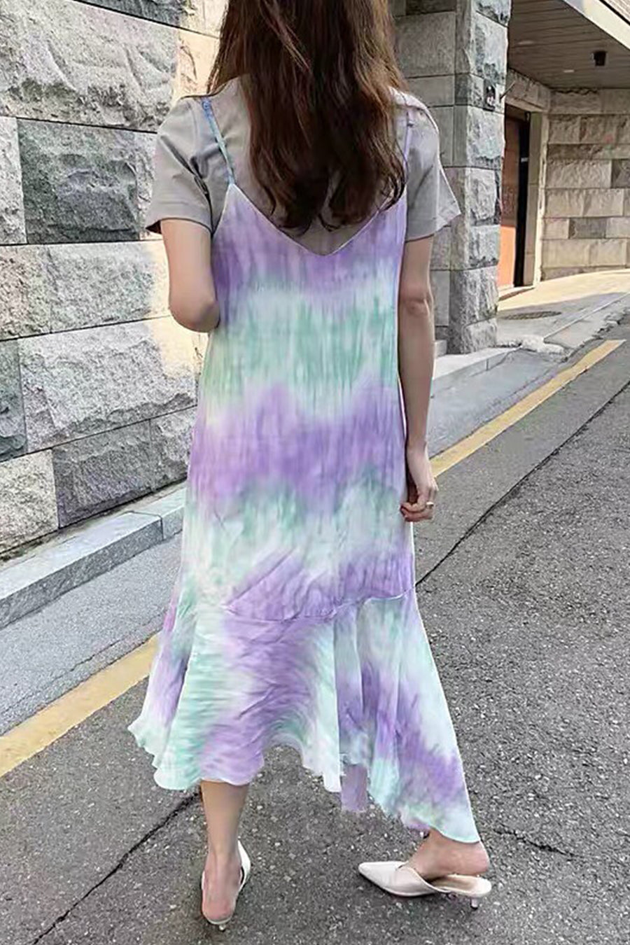 Tye Die Summer Dress Ally