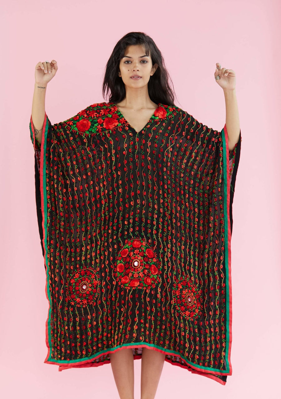 EMBROIDERED KAFTAN LUBA MOMO NEW YORK