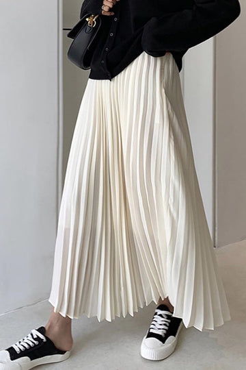 Pleated Waist Skirt Kindra