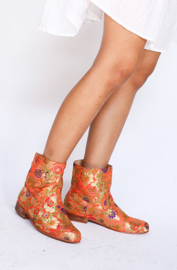 SILK ANKLE BOOTS JUDD