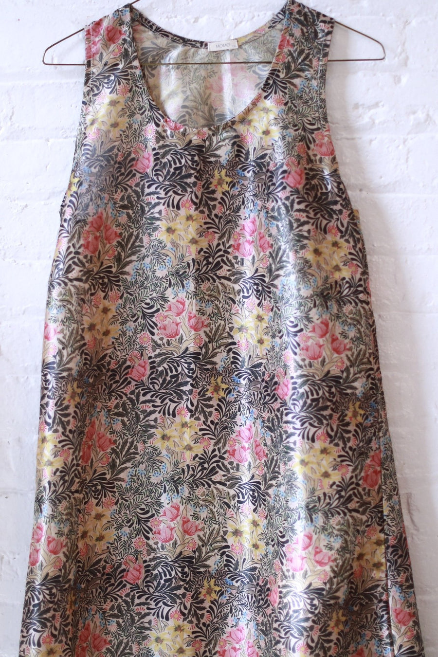 SILK PRINT DRESS LIXA MOMO NEW YORK