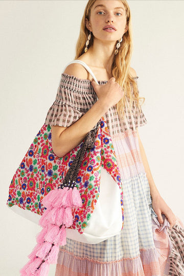 Boho Chic Embroidered Bag Lara