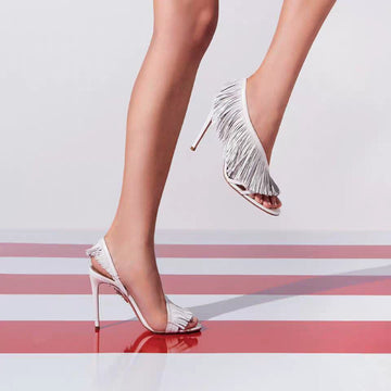 All The More Fringe Heels Arunee