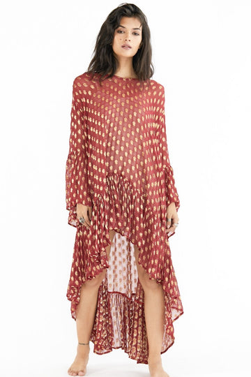 OVERSIZE KAFTAN DRESS OLIVIA MOMO NEW YORK