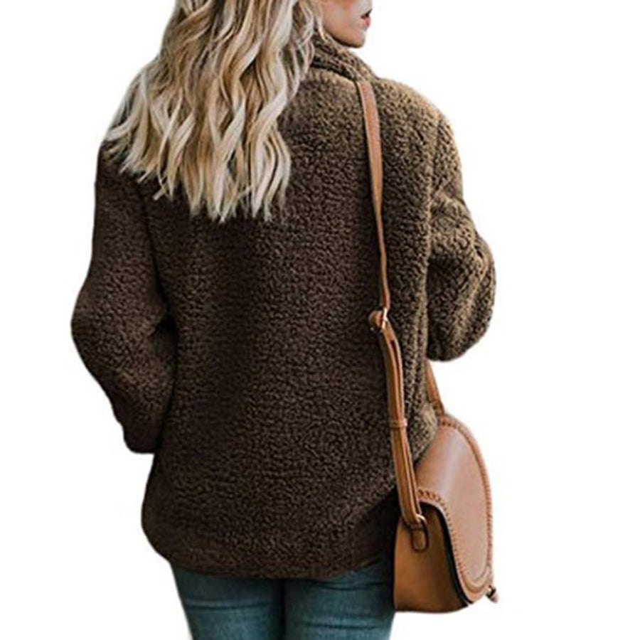 Fall Winter Boho Jacket Overcoat Loose Bohemian Teddy Jacket