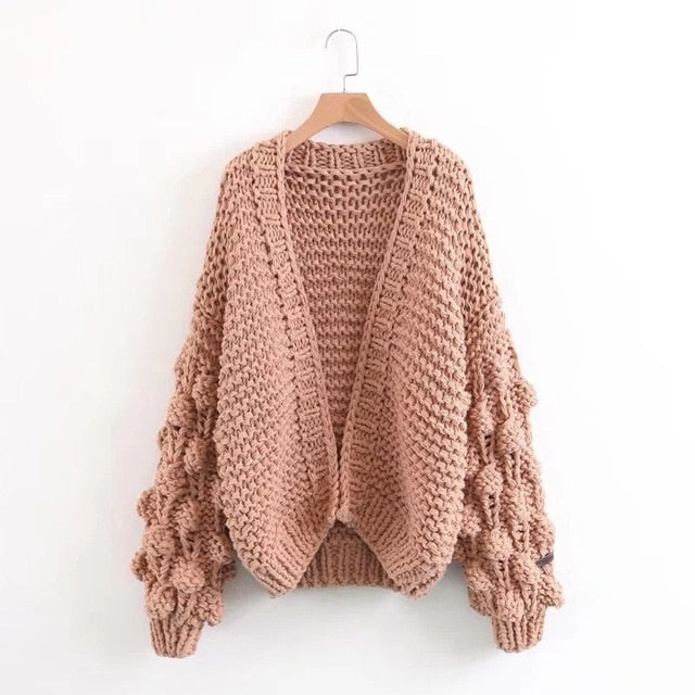 Loose Woven Chunky Knit Sweater