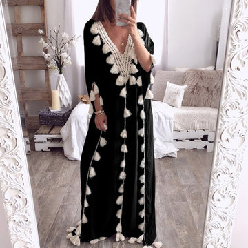 Maxi Dress Boho Party Casual Long Sundress