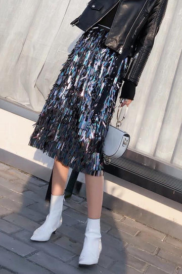 SEQUIN SKIRT MOMO NEW YORK