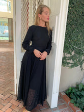 Evening Gown in black