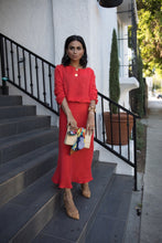 Liana Dress in Coral