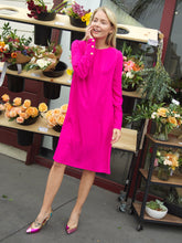 Alexandra Dress in Hot Pink