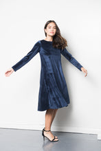 Ava Dress in Navy
