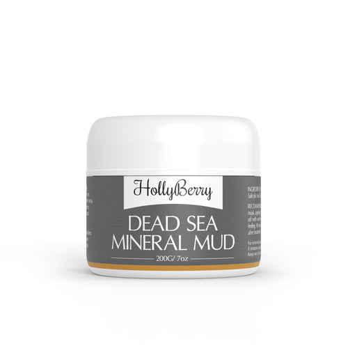 Dead sea mud mask by Hollyberry Cosmetics