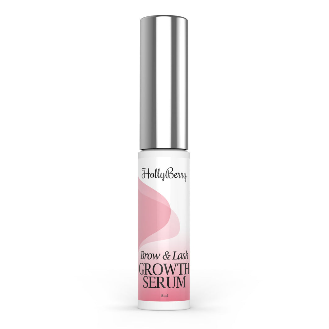 Eyelash and eyebrow growth serum by Hollyberry Cosmetics