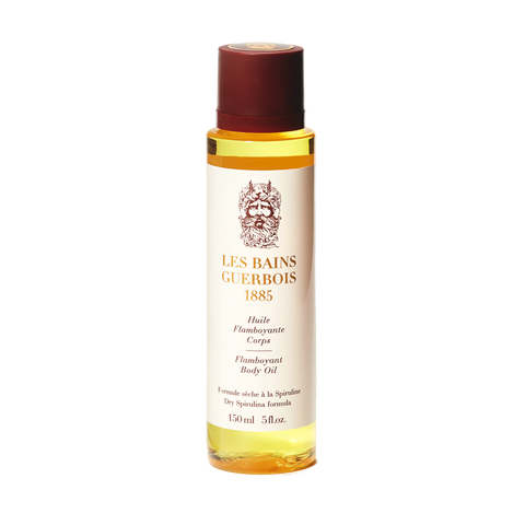 Flamboyant body oil
