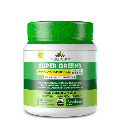 natural green superfoods