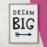 Dream Big, Children's Art Print